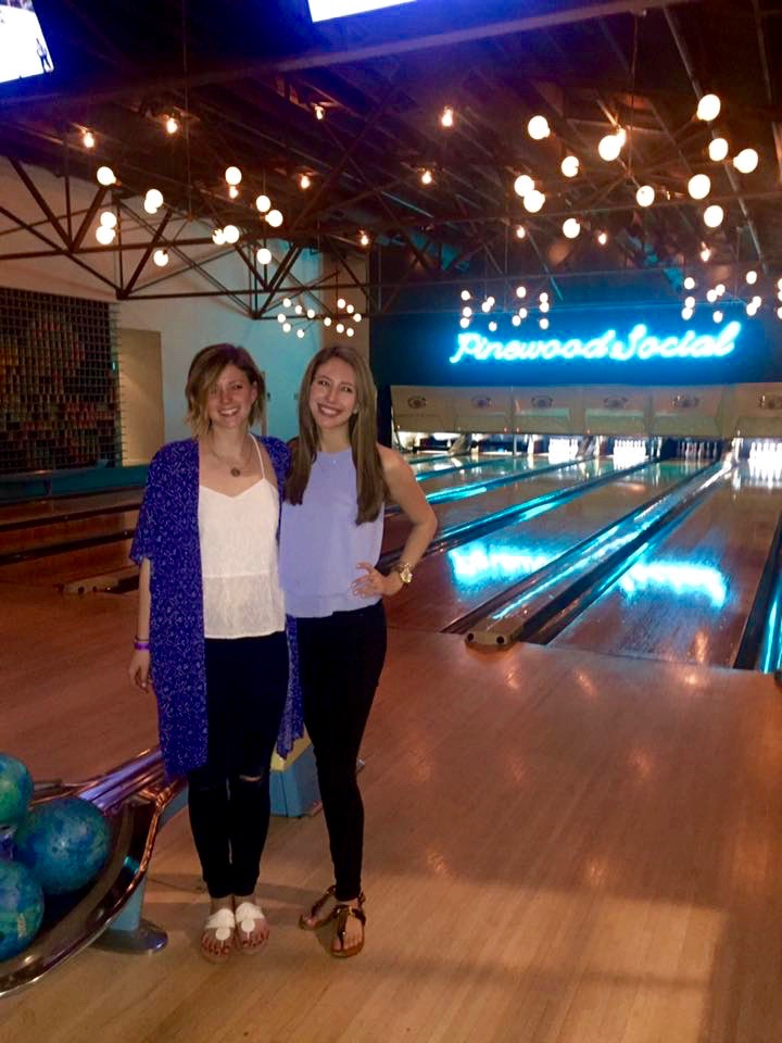 pinewood social, bowling, nashville